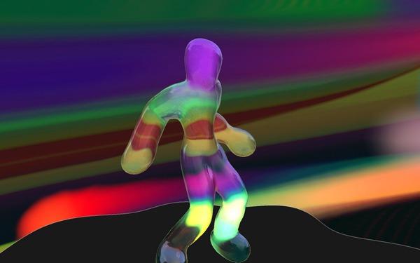 Blobby Dancer for AMD64